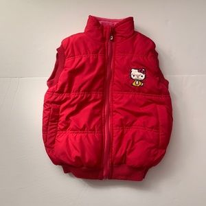 Hello Kitty Puffer Vest